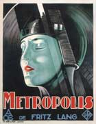 Metropolis - 11 x 17 Movie Poster - German Style I