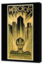 Metropolis - 11 x 17 Movie Poster - Style B - Museum Wrapped Canvas