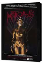 Metropolis - 27 x 40 Movie Poster - Style F - Museum Wrapped Canvas