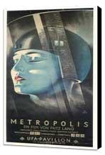 Metropolis - 14 x 36 Movie Poster - German Style A - Museum Wrapped Canvas