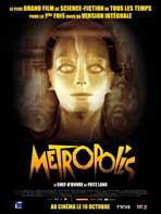 Metropolis - 43 x 62 Movie Poster - French Style B