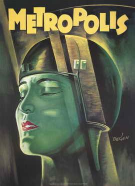 Metropolis - 11 x 17 Movie Poster - Style F