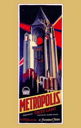 Metropolis - 11 x 17 Movie Poster - Style A