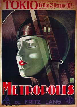 Metropolis - 11 x 17 Movie Poster - French Style C