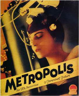 Metropolis - 11 x 17 Movie Poster - Style D