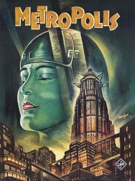 Metropolis - 11 x 17 Movie Poster - Style E