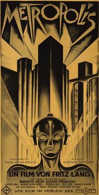 Metropolis - 41 x 81 3 Sheet Movie Poster - Style A