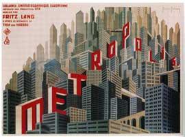 Metropolis - 11 x 17 Movie Poster - French Style B
