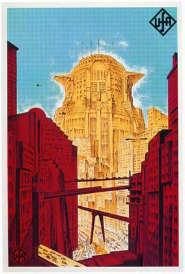 Metropolis - 11 x 17 Movie Poster - German Style A