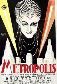 Metropolis - 11 x 17 Movie Poster - Style I