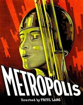Metropolis - 27 x 40 Movie Poster - Style E