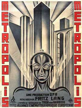 Metropolis - 11 x 17 Movie Poster - French Style A