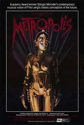 Metropolis - 11 x 17 Movie Poster - Style M