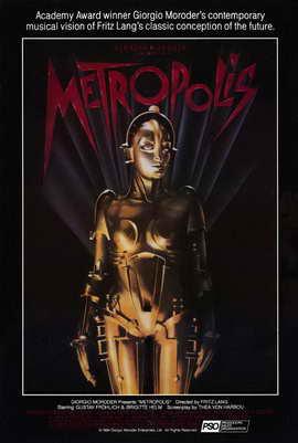 Metropolis - 27 x 40 Movie Poster - Style F