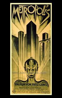 Metropolis - 43 x 62 Movie Poster - German Style A