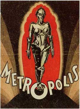 Metropolis - 27 x 40 Movie Poster - Style G