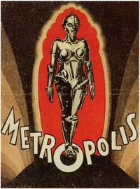 Metropolis - 43 x 62 Movie Poster - Bus Shelter Style D