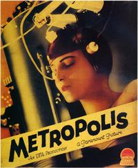 Metropolis - 43 x 62 Movie Poster - Bus Shelter Style E