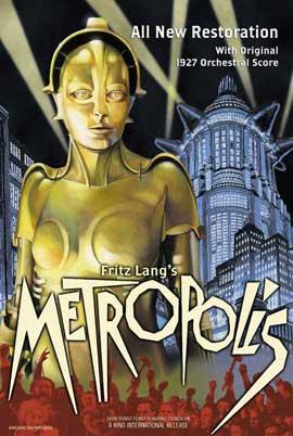 Metropolis - 27 x 40 Movie Poster - Style K