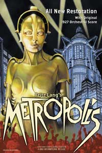Metropolis - 43 x 62 Movie Poster - Bus Shelter Style F