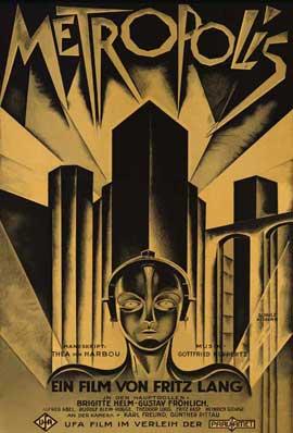 Metropolis - 11 x 17 Movie Poster - German Style D