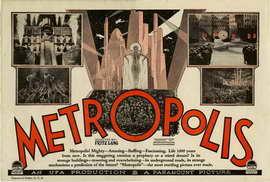 Metropolis - 27 x 40 Movie Poster - Style N