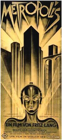 Metropolis - 11 x 17 Movie Poster - German Style C