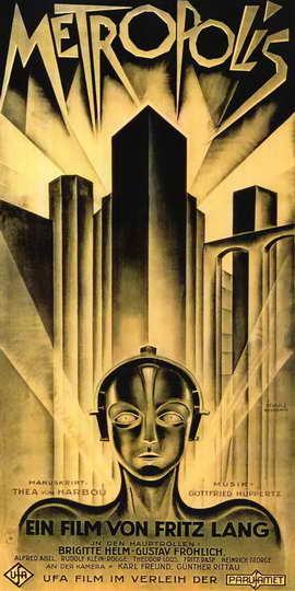Metropolis - 20 x 40 Movie Poster - German Style A