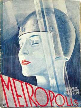 Metropolis - 11 x 17 Movie Poster - German Style E