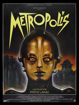 Metropolis - 27 x 40 Movie Poster - French Style A
