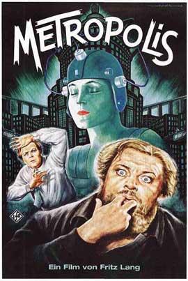 Metropolis - 11 x 17 Movie Poster - German Style G