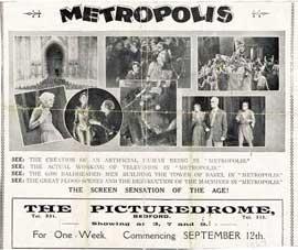 Metropolis - 11 x 17 Movie Poster - UK Style A