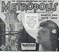 Metropolis - 11 x 17 Movie Poster - UK Style B
