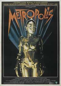Metropolis - 27 x 40 Movie Poster - Italian Style A