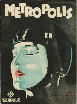 Metropolis - 11 x 17 Movie Poster - UK Style C