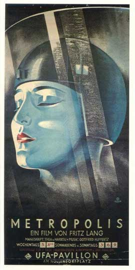 Metropolis - 14 x 36 Movie Poster - German Style A