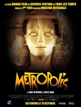 Metropolis - 27 x 40 Movie Poster - French Style C