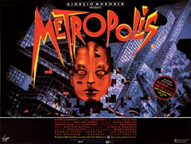 Metropolis - 30 x 40 Movie Poster - Style A