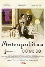 Metropolitan - 27 x 40 Movie Poster - Spanish Style A