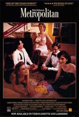 Metropolitan - 11 x 17 Movie Poster - Style A
