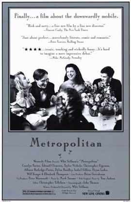 Metropolitan - 11 x 17 Movie Poster - Style B