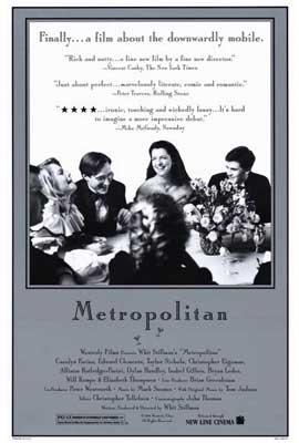 Metropolitan - 27 x 40 Movie Poster - Style B