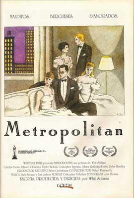 Metropolitan - 11 x 17 Movie Poster - Spanish Style A
