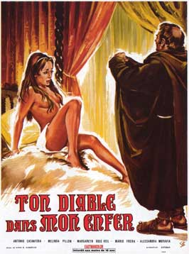 Metti lo diavolo tuo ne lo mio inferno - 11 x 17 Movie Poster - French Style A