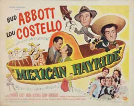 Mexican Hayride - 22 x 28 Movie Poster - Style A