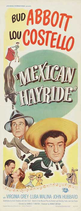 Mexican Hayride - 14 x 36 Movie Poster - Insert Style A