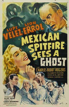 Mexican Spitfire Sees a Ghost - 11 x 17 Movie Poster - Style A