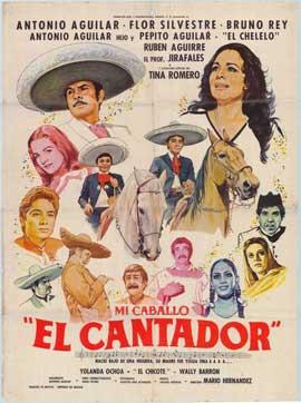 Mi caballo el cantador - 27 x 40 Movie Poster - Spanish Style A