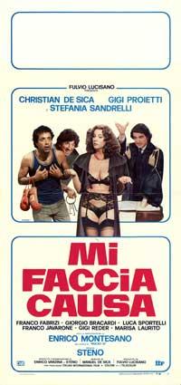 Mi faccia causa - 13 x 28 Movie Poster - Italian Style A