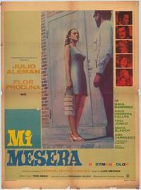 Mi mesera - 11 x 17 Movie Poster - Spanish Style A